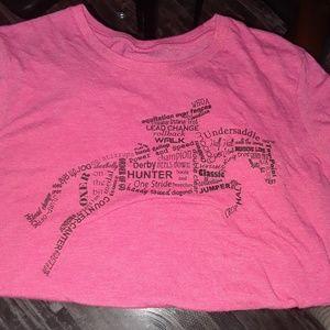 Equestrian tee